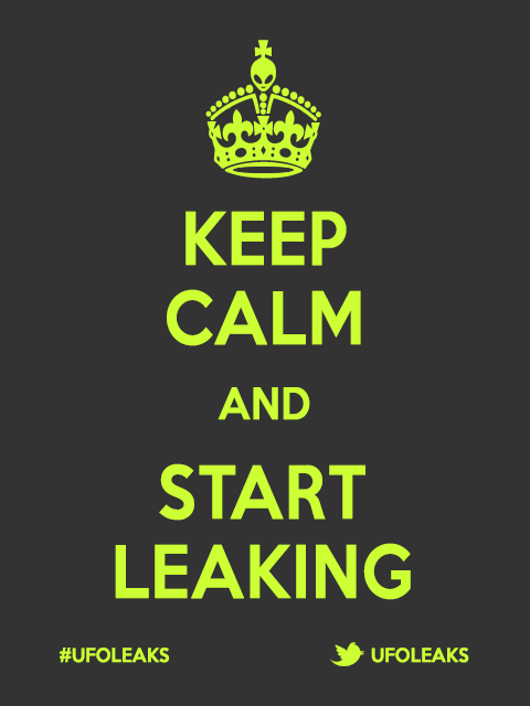 Keep Calm and Start Leaking!